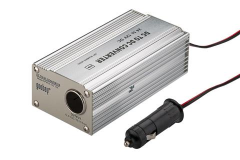 Goobay 24 to 12 volt DC converter, 125 watt