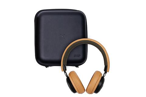 SACKit TOUCHit hovedtelefoner, golden incl. black cover