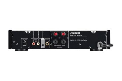 Yamaha U-670, Alu black
