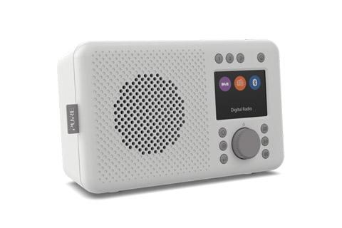 Pure Elan DAB+ radio, grey