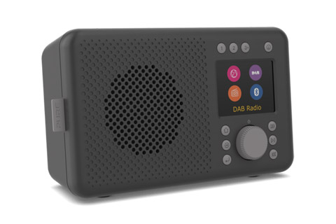 Pure Elan Connect internet radio, black