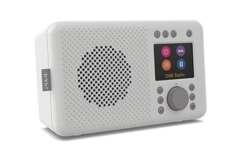 Pure Elan Connect internet radio, grey