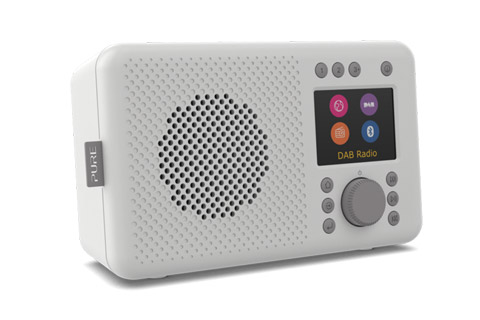 Pure Elan Connect+ internet radio, grey