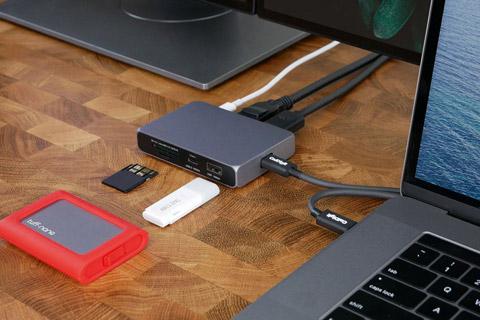 CalDigit USB-C SOHO dock - Lifestyle