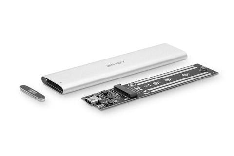 Lindy USB 3.2 Gen 2 M.2 SSD Hard disk enclosure