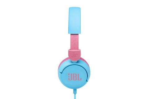 JBL JR310 headphones, blue