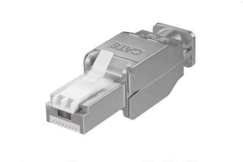 CAT6 STP tool-less RJ45 connector