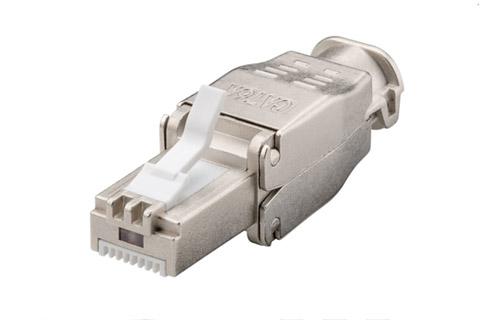 CAT6A STP tool-less RJ45 connector