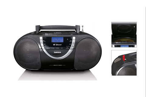 Lenco SCD-6900 portable DAB+/FM radio with CD, USB and Bluetooth