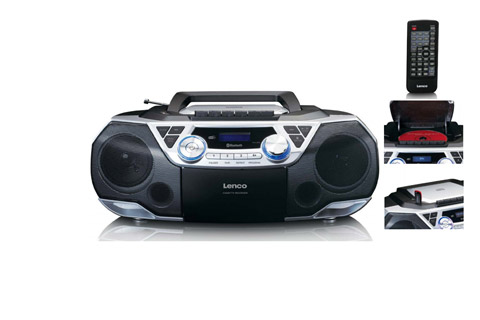 Lenco SCD-720 Ghettoblaster with Bluetooth and DAB+/FM