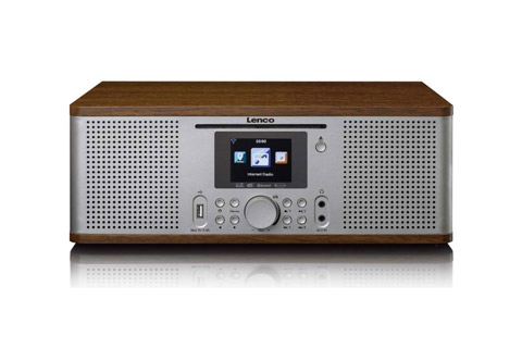 Lenco DIR-270WD Internet, FM and DAB+ radio with Bluetooth