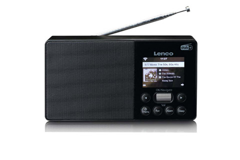 Lenco PIR-510 portable internet radio with FM/DAB+