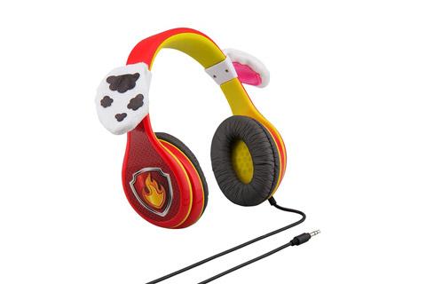 eKids PW-140MA Paw Patrol Marshall headphones