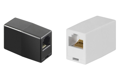 Deltaco CAT 6 network extender adaptor (RJ45 female - female)