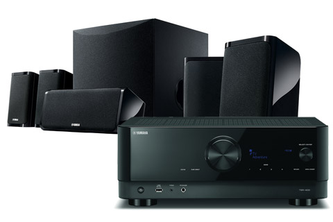 Yamaha YHT-4960-EU 5.1-channel home theatre package, black