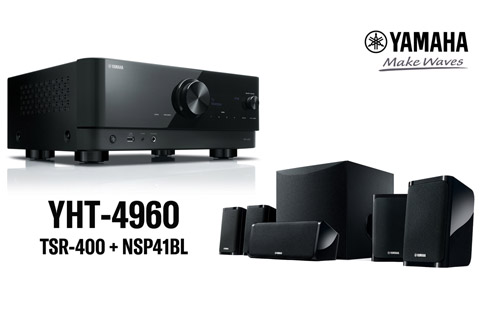Yamaha YHT-4960 hometheater system