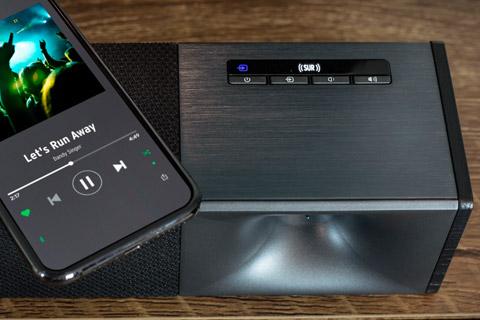 Klipsch cinema 600 soundbar with wireless subwoofer - Interface