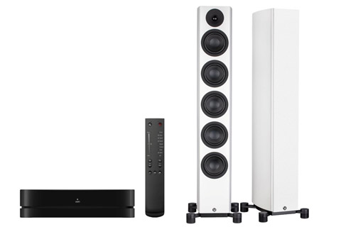 System Audio Legend 60 incl. stereo hub, white