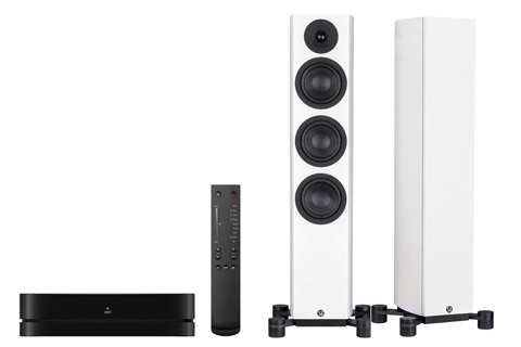System Audio Legend 40 incl. stereo hub, white