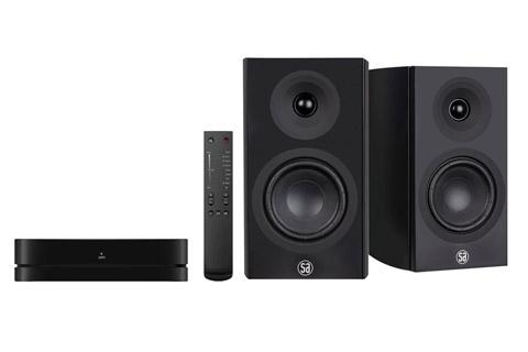 System Audio Legend 5 incl. stereo hub, black