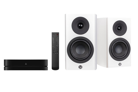 System Audio Legend 5 incl. stereo hub, white