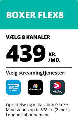 Boxer TV Flex8, 2021 Q1