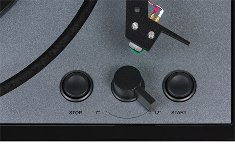 Thorens TD-102A turntable, black
