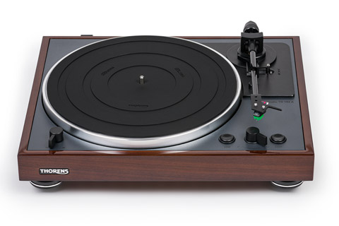 Thorens TD-102A turntable, walnut