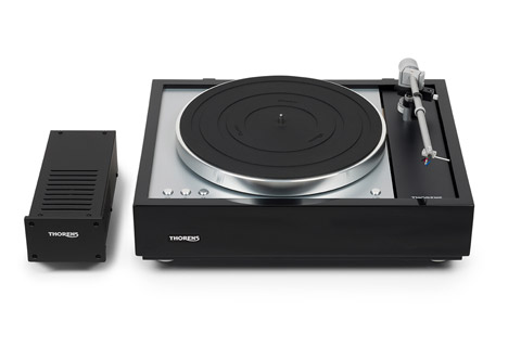 Thorens TD1601 turntable, without pickup, black