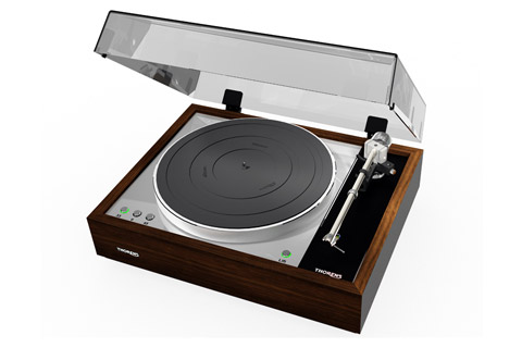 Thorens TD1601 turntable, walnut