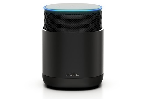 Pure DiscovR smart speaker, black