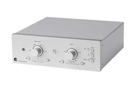 Pro-Ject Phono Box RS2, silver