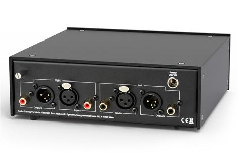 Pro-Ject Phono Box RS2, back