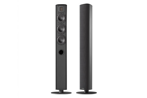 Piega Ace 50 floorstanding speaker, black