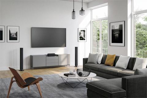 Piega Ace 50 floorstanding speaker, lifestyle