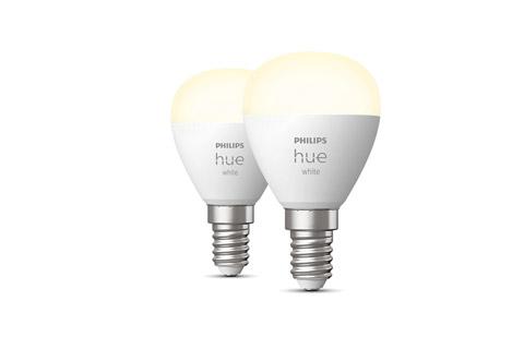 Philips Hue White E14 LED small bulb - 2 stk