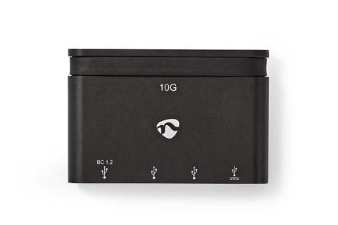 Nedis USB 3.2 Gen 2 USB-C hub, 4 ports