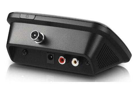 Albrecht DAB+/FM adapter with Bluetooth - Back