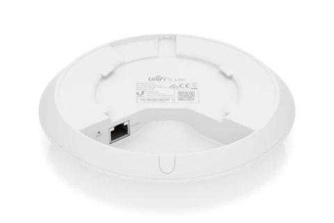 Ubiquiti U6-Lite-US UniFi 6 Dual Radio access point -  Back, no mount