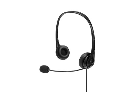 Lindy USB stereo headset with microphone (USB-A)