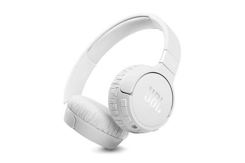 JBL Tune 660NC on-ear headphones, white