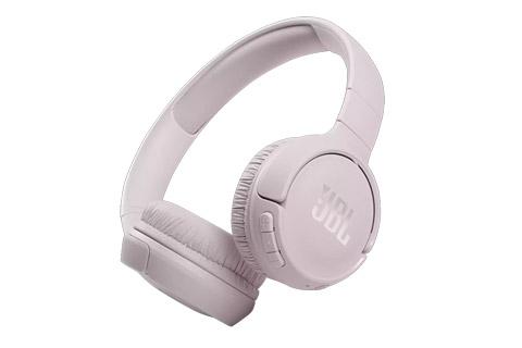 JBL Tune 510BT on-ear headphones, rose