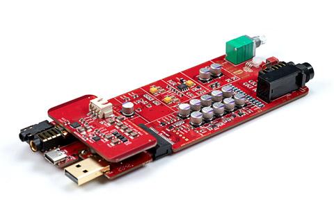 ifi Audio iDSD Diablo inside PCB