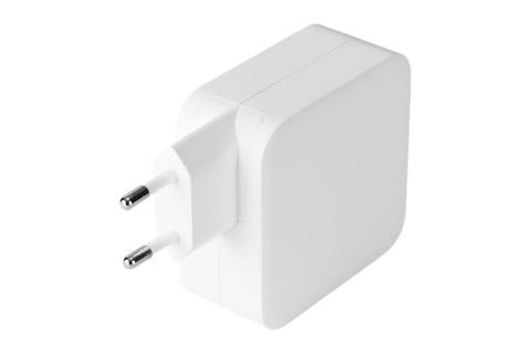 Deltaco 2-way USB-C/USB-A charger (5A/100W)