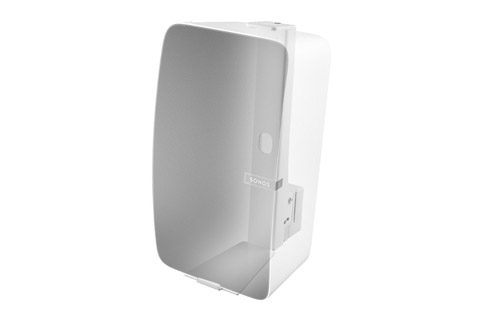 Cavus verticall wall bracket for Sonos PLAY:5/FIVE - White