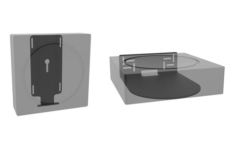 Cavus wall brackets for Sonos AMP