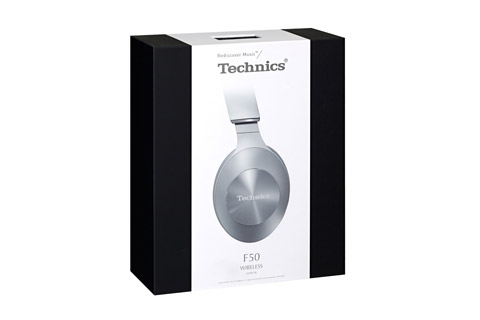 Technics EAH-F50B headphones, Silver