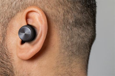Technics EAH-AZ70W in-ear headphones, black