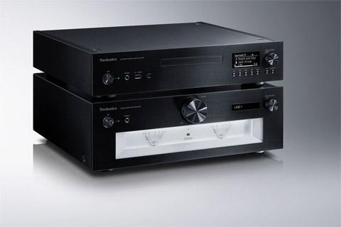 Technics SL-G700 network and CD-player, black