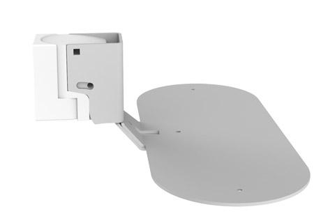 Cavus wall bracket for Citation 500 - White